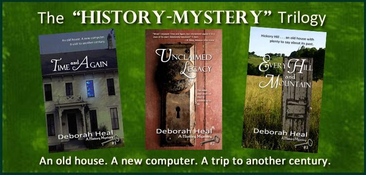 history mystery trilog