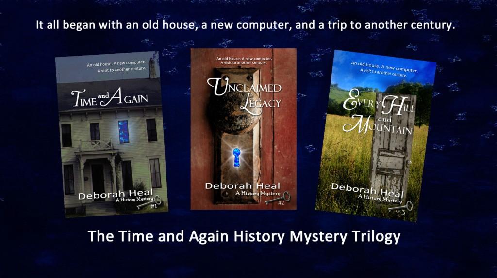 history mystery trilogy
