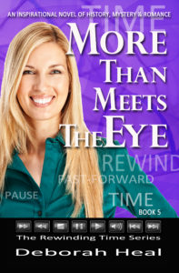 Pre-order More Than Meets the Eye, book 5 in the Rewinding Time Series