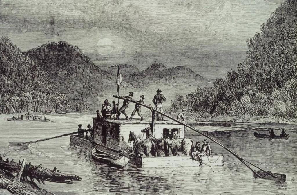 flatboat_on_the_ohio_circa1788