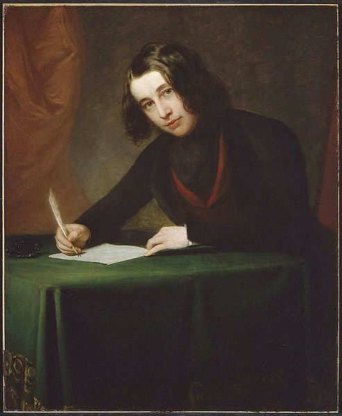 Portrait of Charles Dickens by Francis Alexander 1842