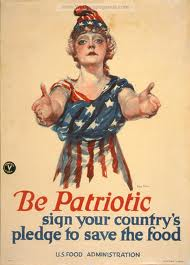 Be Patriotic. Conserve Food.