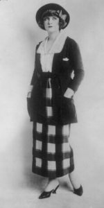 Perhaps Elizabeth Spaulding wore a suit such as this in 1918.