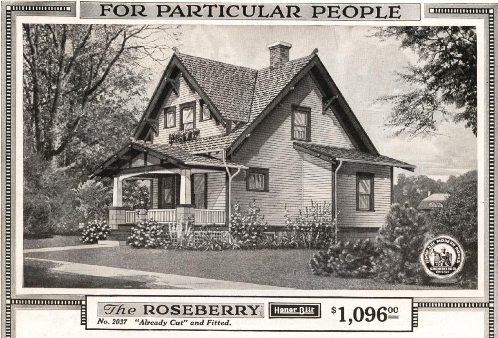 Sears Roseberry catalog house