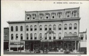 St. George Hotel, Carlinville, IL