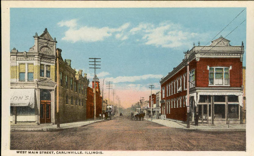 West Main St. Carlinville, IL