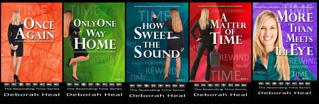 The original Rewinding Time Book Covers